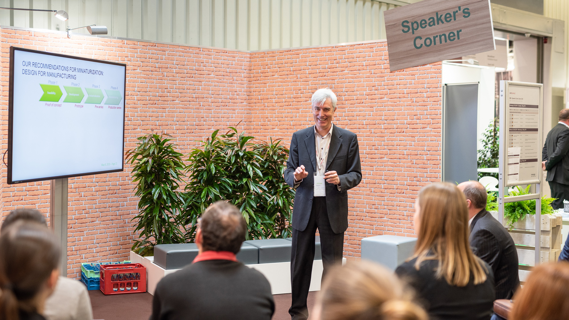 VALTRONIC Technologies (Suisse) SA at the Speakers' Corner