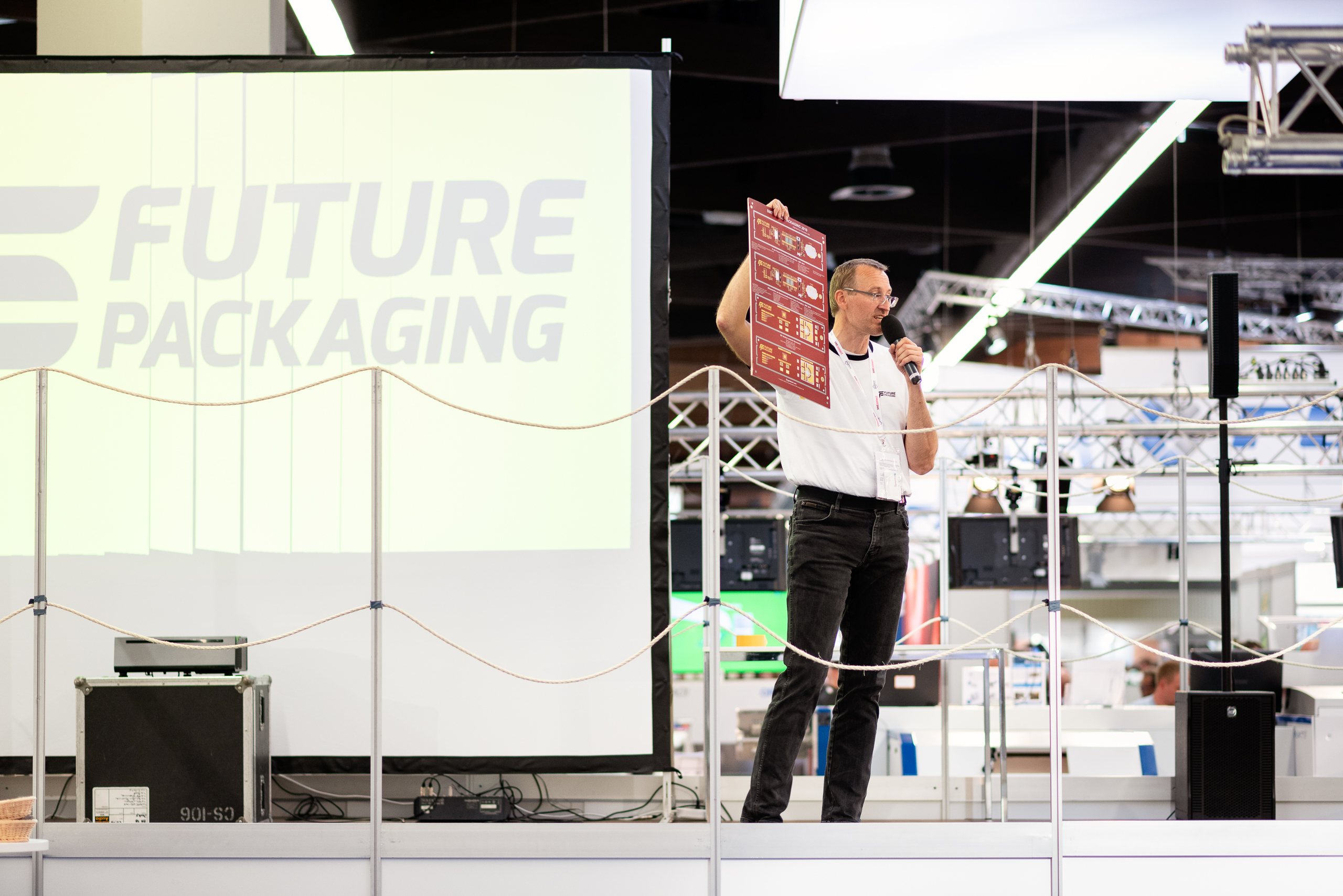"Exhibition SMTconnect 2019 – ""Future Packaging"" production line"