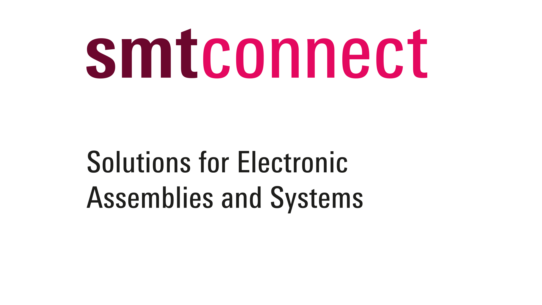 SMTconnect 2020 logo package short version, coloured