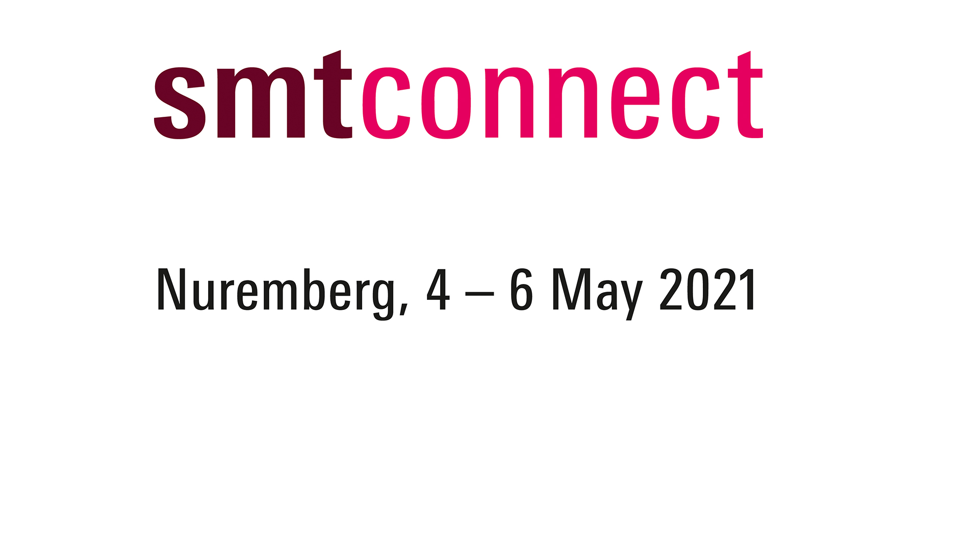 Logo of the SMTconnect